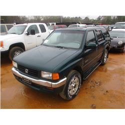 1996 HONDA PASSPORT, VIN/SN:4S6CK58V3T4419061 - GAS ENGINE, A/T, ODOMETER READING 128,741 MILES
