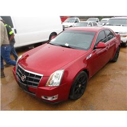 2008 CADILLAC CTS VIN/SN:1G6DF577X80162345 - GAS ENGINE, A/T, P/S, P/W, P/DL, HEATED SEATS