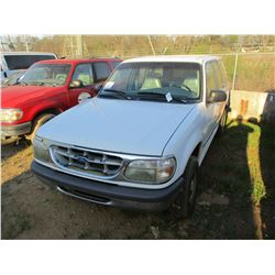 1997 FORD EXPLORER VIN/SN:1FMDU32X5VUC99286 - V6 GAS ENGINE, A/T, ODOMETER READING 151,976 MILES (CO