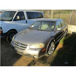 2003 NISSAN MAXIMA VIN/SN:JNIDA31A53T414730 - GAS ENGINE, A/T, ODOMETER READING 187,863 MILES