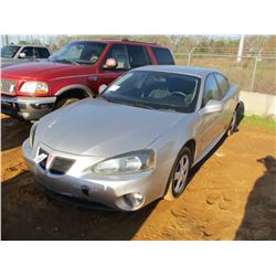 2008 PONTIAC VIN/SN:2G2WP552381115564 -GAS ENGINE, A/T