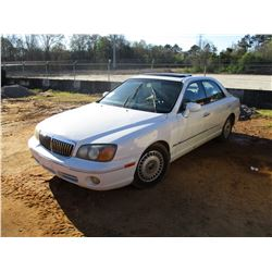 2001 HYUNDAI XG300L VIN/SN:KMHFU45D31A089524 - GAS ENGINE, A/T, ODOMTER READING 111,812 MILES