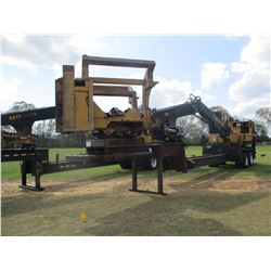 2010 TIGERCAT 250B LOG LOADER, VIN/SN:2500628 - CUMMINS ENGINE, ECAB W/AIR, RILEY DELIMBER, MTD ON T