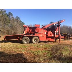 2015 MORBARK 3036 CHIPPER, VIN/SN:466-1255 - CAT C15 540 HP ENGINE, METER READING 2,742 HOURS (SELLI
