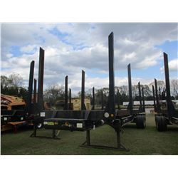 2014 PITTS LOG TRAILER, VIN/SN:5JYLT4025EP140767 - T/A, 4 BOLSTER, 11R24.5 TIRES