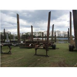 4 BOLSTER LOG TRAILER, VIN/SN:73288