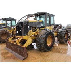 2002 CAT 525B SKIDDER, VIN/SN:3KE00647 - GRAPPLE, SINGLE ARCH, WINCH, ECAB (REVERSE GEAR DOES NOT OP
