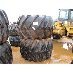 (2) SKIDDER TIRES W/RIMS