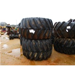 (2) LOG SKIDDER TIRES 2/ RIMS
