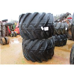 (2) LOG SKIDDER TIRES