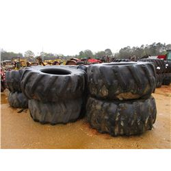 (10) LOG SKIDDER TIRES
