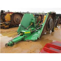 JOHN DEERE CX15 ROTARY CUTTER, VIN/SN:038401 - 15' WIDTH, BATWING, HYDRAULIC LIFT (COUNTY OWNED)