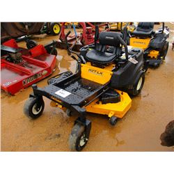 "CUB CADET RZT LX VIN/SN:1L026H50177 50"" ZERO TURN MOWER, METER READING 86 HOURS"