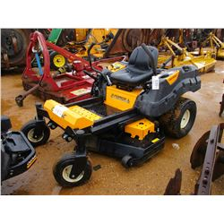 "CUB CADET Z FORCE VIN/SN:1L164H50031 48"" ZERO TURN LAWNMOWER, METER READING 191 HOURS"