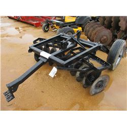 SINGLE ROW DISC HARROW, TOWABLE