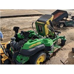 JOHN DEERE 2310A ZERO TURN LAWNMOWER, VIN/SN:011150 - GAS ENGINE, 7 IRON PRO 48 DECK (SELLING ABSENT