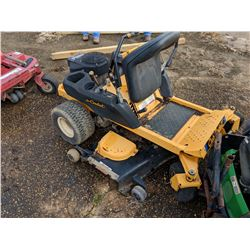"CUB CADET RZT ZERO TURN LAWNMOWER, VIN/SN:1F047G20027 - KAWASAKI GAS ENGINE, 50"" DECK (SELLING ABSEN"