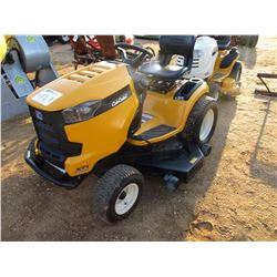 "CUB CADET XTI RIDING MOWER, VIN/SN:1E056H20383 - 54"", METER READING 41 HOURS"