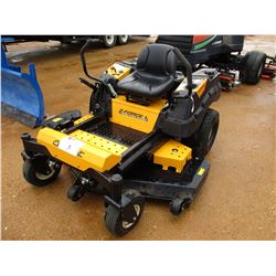"CUB CADET Z FORCE ZERO TURN LAWNMOWER, VIN/SN:1A084H20044 - 60"", METER READING 81 HOURS"