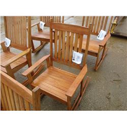 STANDARD WOOD ROCKING CHAIR