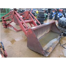 CASE INTERNATIONAL FRONT END LOADER FITS FARM TRACTOR