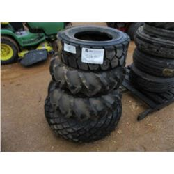 (5) MISC SIZE TIRES