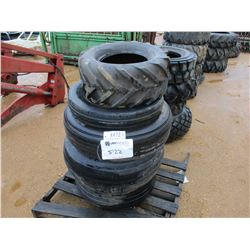 (3) MISC SIZE TIRES