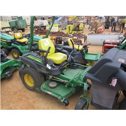 "JOHN DEERE Z930M ZERO TURN MOWER, VIN/SN:033541 - 60"", METER READING 1,190 HOURS"