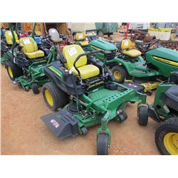 "JOHN DEERE Z925M ZERO TURN MOWER, VIN/SN:020112 - 54"", METER READING 902 HOURS"