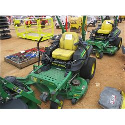 "JOHN DEERE Z925M ZERO TURN MOWER, VIN/SN:010131 - 54"", METER READING 921 HOURS"
