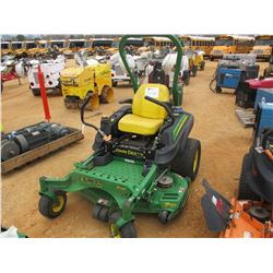 "JOHN DEERE Z925M ZERO TURN MOWER, VIN/SN:010094 - 54"", METER READING 956 HOURS"