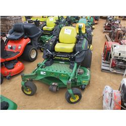 "JOHN DEERE Z920M ZERO TURN MOWER, VIN/SN:020707 - 54"", METER READING 1,253 HOURS"