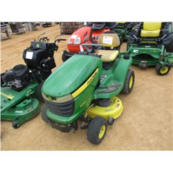 JOHN DEERE X300 RIDING MOWER, VIN/SN:041365 - 42""