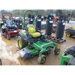 JOHN DEERE Z930R LAWN MOWER, - ZERO TURN, ROLL BAR, METER READING 1,674 HOURS
