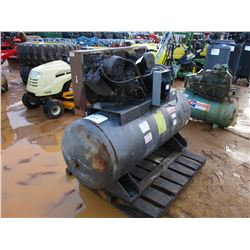AIR COMPRESSOR, ELECTRIC, TANK MTD