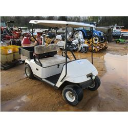 EZ-GO GOLF CART, VIN/SN:1241377 - CANOPY, GAS ENGINE, REAR DUMPER BED