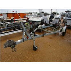 GALVANIZED T/A BOAT TRAILER (STATE OWNED)
