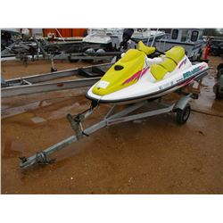 SEA DOO BOMBARDER GTI ON TRAILER