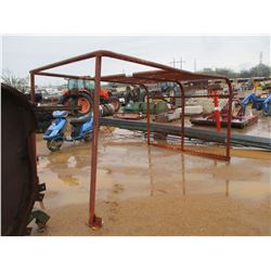 STEEL PIPE FRAME 7' X 10'