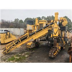 GOMACO GT3600 CURB MACHINE, VIN/SN:902900-212 - METER READING 1,238 HOURS (SOLD ABSENTEE, LOCATED IN