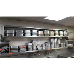 Misc. Stainless Steel Square & Rectangular Pans, Containers, Lids, etc. - Square, Round, Various Siz