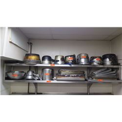 Misc. Aluminum Pots, Pans, Sheet Trays - Various Sizes