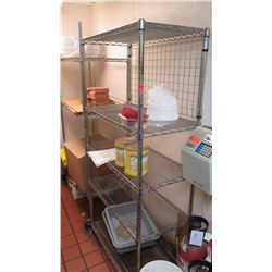 "35.5"" X 18"" Wire Shelving - Has 5 Shelves"
