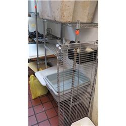 "35.5"" X 14"" Wire Shelving - Has 4 Shelves"