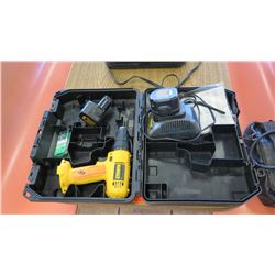 Dewalt DW926 Cordless Drill w/Batteries and Case