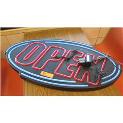 "Light-Up ""OPEN"" Sign"