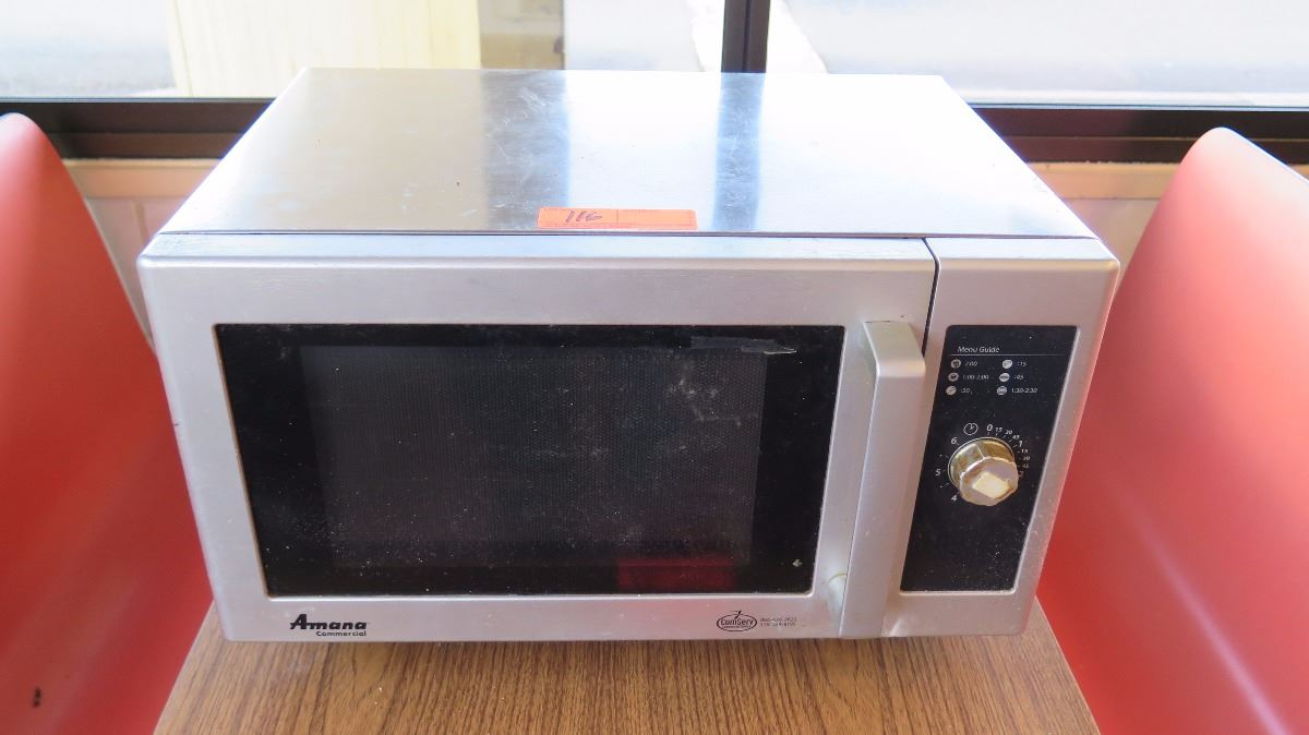 Image 1 Amana Countertop Microwave Oven