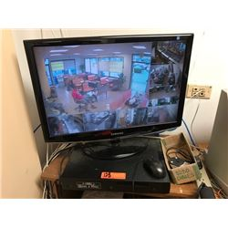 8-Station Video Surveillance Security Camera System - just added to auction 1/11/17 1:41pm