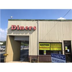 Iconic DINERS Restaurant Sign on Side of Building - just added to auction 1/11/17 2:31 pm
