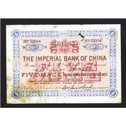 "Imperial Bank of China, 1898 ""Peking"" Branch Issue."